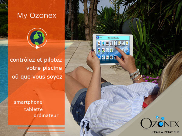 ozonex swimming pool connection