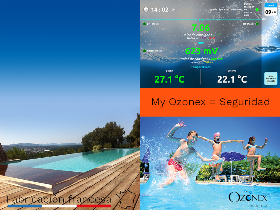 ozonator for swimming pool